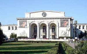 The Romanian National Opera Bucharest Building