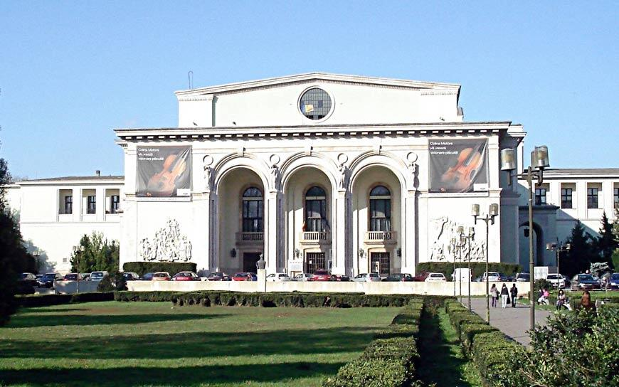 The Romanian National Opera Bucharest Building