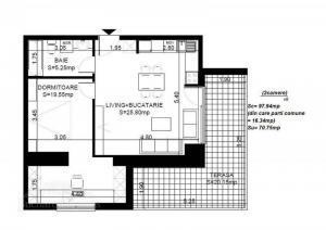blueprint of the flat