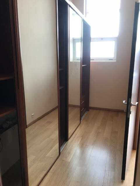 furnished dressing room