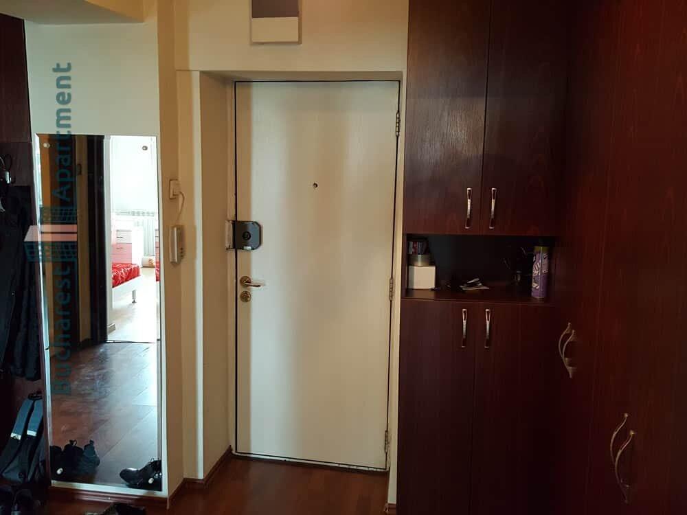 Hall with dressing closet