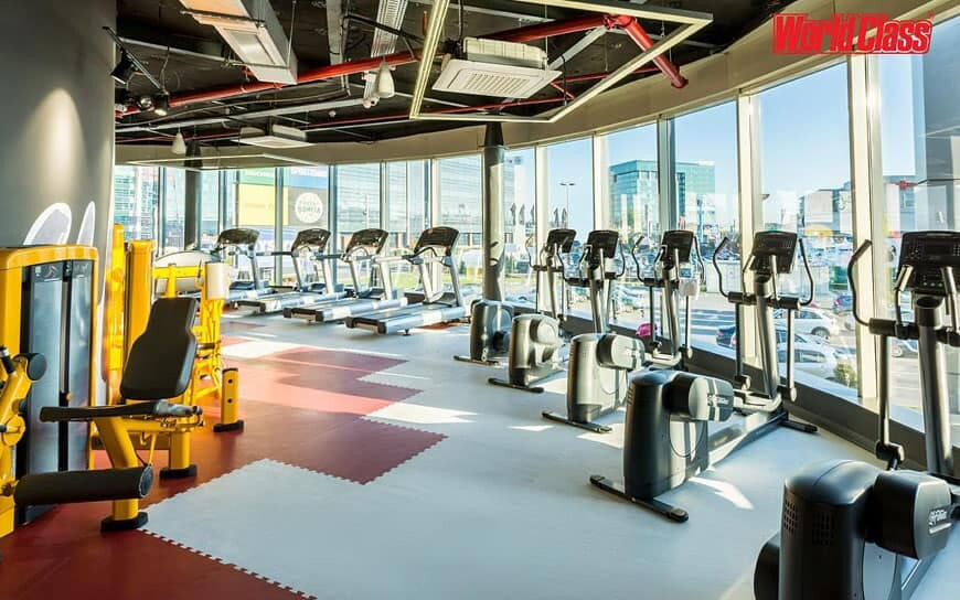 worldclass fitness club interior