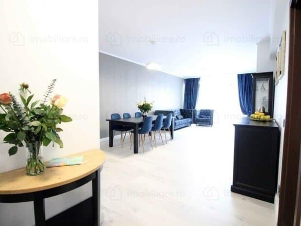 entrance hall and living room