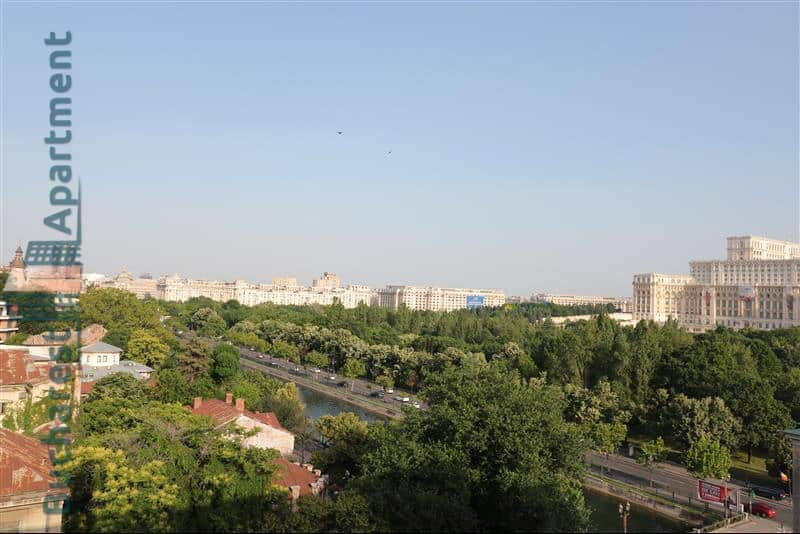 view from kogalniceanu apartment windows