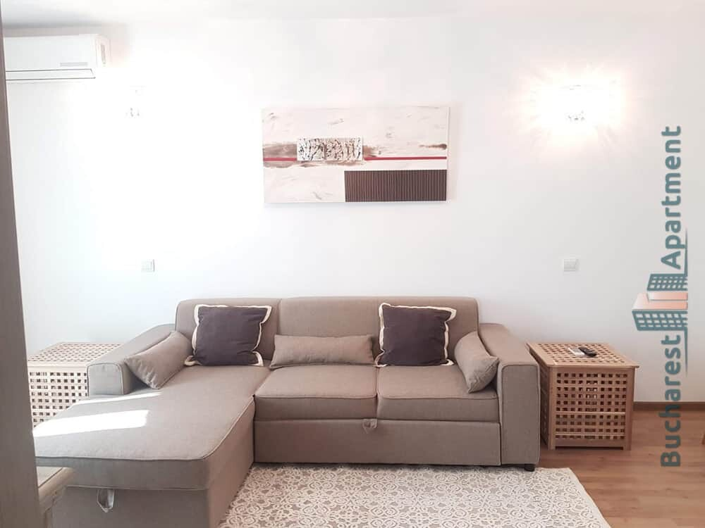 light brown sofa in living room