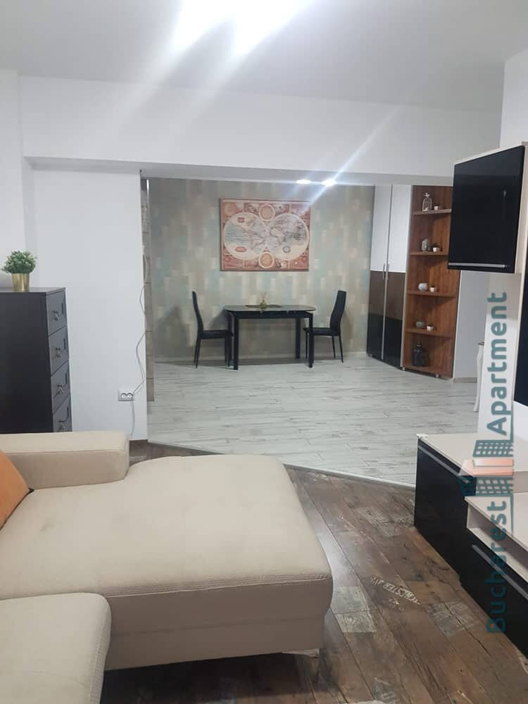 living room and dining area of unirii apartment