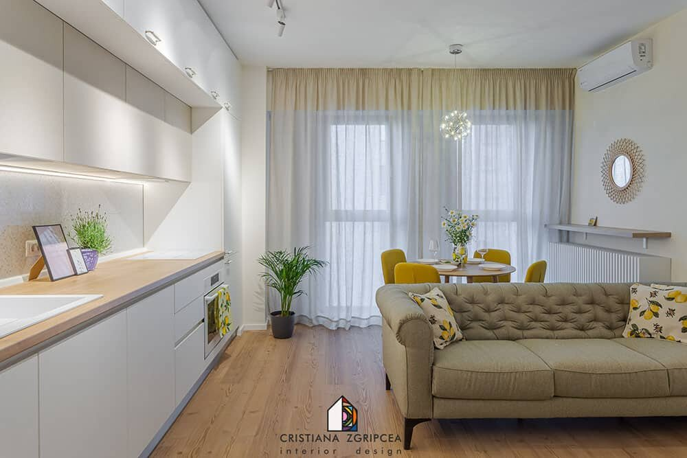 designer apartment in new building on unirii boulevard