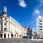 calea victoriei street in Bucharest center